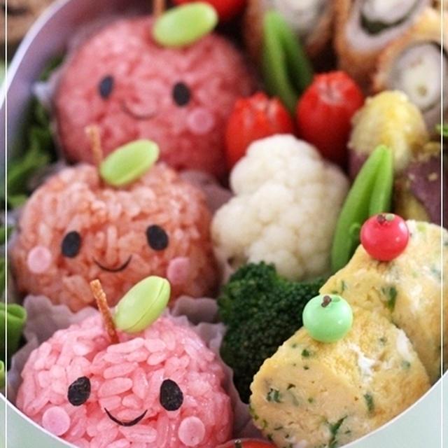 姫林檎ちゃんのお弁当&作り方♪