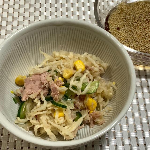 【レシピ】乾物活用!!切り干し大根で♪かむかむサラダ