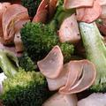 カリカリニンニクがおいしい〜ブロッコリーとポテト炒め