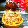 栗の渋皮煮で簡単 秋のお菓子に♪本格濃厚マロンクリーム♡モンブランやケーキにどうぞ by *ももら*さん