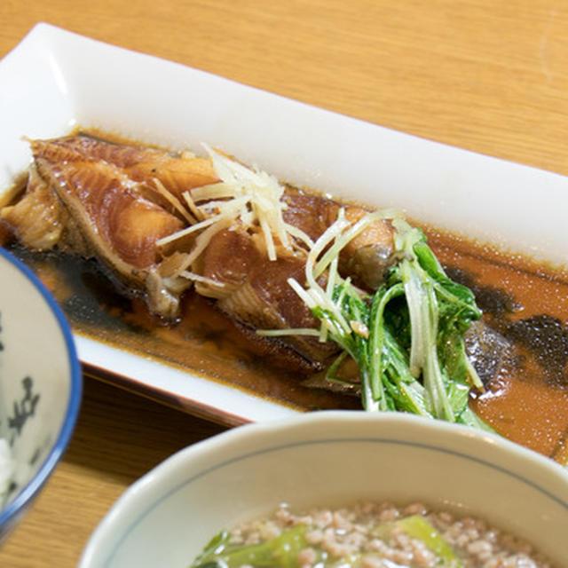 【レシピ有!】カラスカレイの煮物は、圧力鍋で骨ごと食べるのが正解!