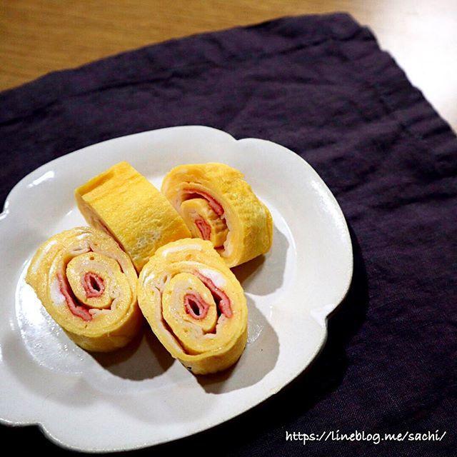 【お弁当】カニカマ入りぐるぐる玉子焼き♡【#簡単レシピ#玉子焼き】