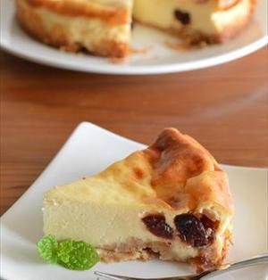 クランベリーの レモンチーズケーキ&お知らせ