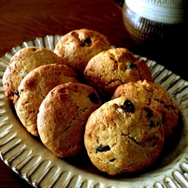 ホットケーキミックスでレーズンソフトクッキー♪