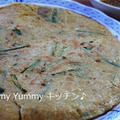 夏休み☆親子で楽しめるおすすめ料理本『きょうの料理キッズ』♪豚キムにらチヂミ作りました~ by ゆみぴいさん