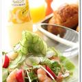 ☆気持ち良い朝にはすっきりサラダの朝食☆ by モーちゃんさん