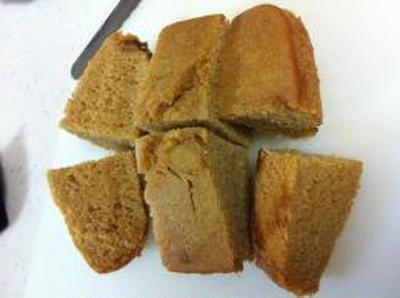 黒糖蒸しパンと休日のホットケーキ