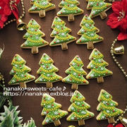 クリスマスアイシングクッキー*ツリー