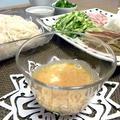 素麺に☆ピリ辛素麺つゆ☆