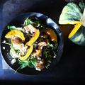 秋の焼きカボチャサラダ