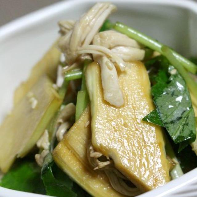 マコモダケで3品(中華風サラダ・素焼き・きんぴら)