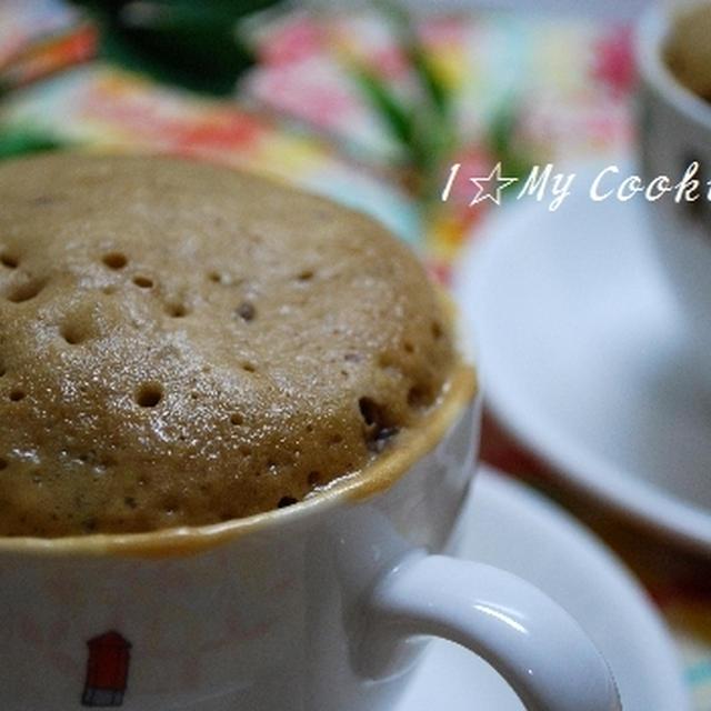 レンジで簡単☆チョコカップケーキ