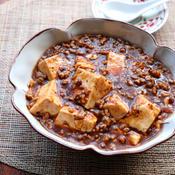 花椒でシビれる辛さ 本格麻婆豆腐