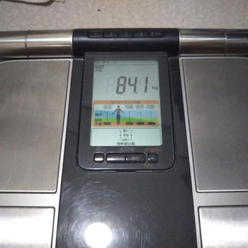 デブエット 結果発表 その1 体重計