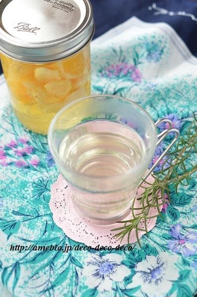 体ぽかぽか♡「シトラスジンジャー・ホットサワー」~生姜入りのフルーツ酢をホットで楽しむ♪