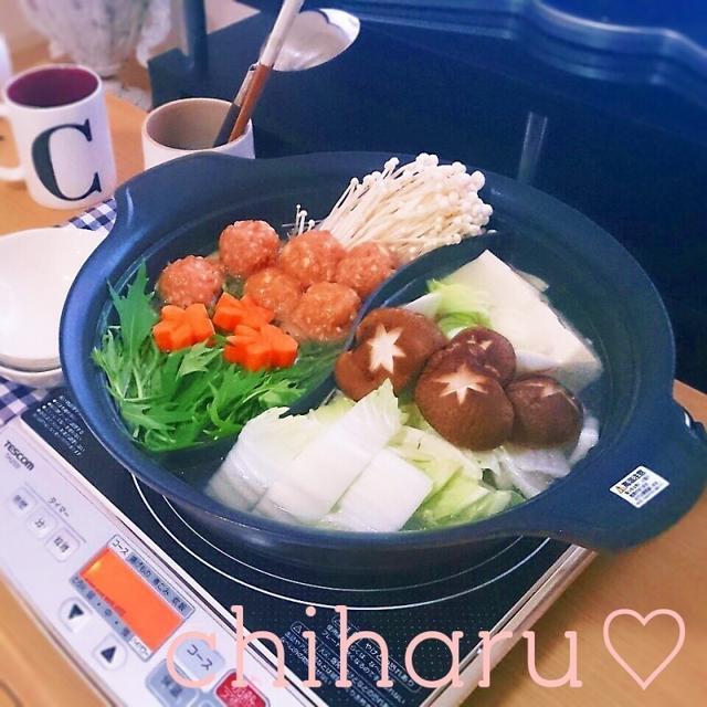 生姜でポっカポカ♡節約♡自慢の塩鶏鍋♡