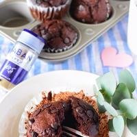 【レシピ】バレンタインにオススメ!!カルダモン香るチョコチップマフィン