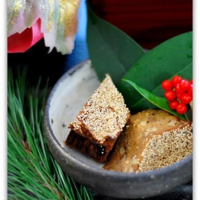 お節~鶏の松風焼き(ポピーシード)