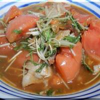 栃木県産トマトと豚バラの生姜スープ煮