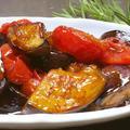 なすとトマトのバルサミコ酢マリネレシピ by イクコさん