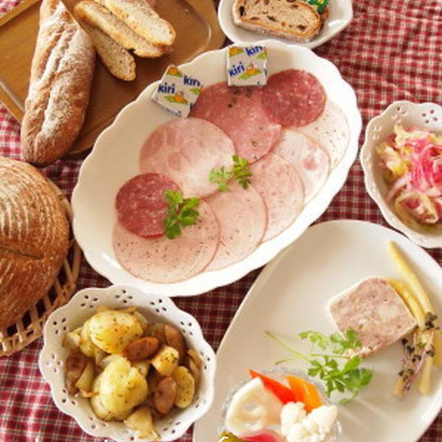 ドイツ風な朝食。。。