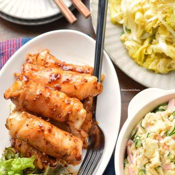 ♡キャベツを美味しく食べ切ろう♡ナムル&肉巻き♡レシピあり♡
