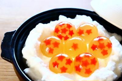 【デコ鍋】ドラゴンボール風コラーゲンボール メレンゲ鍋レシピ