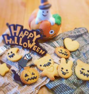 簡単☆かぼちゃクッキー♪