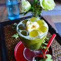 抹茶わらび餅とキウイの大人パフェ  Smoothie Cocktail  by 青山 金魚さん