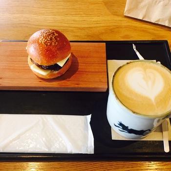 京都のびっくりバーガー