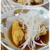 肉入り揚げ焼き豆腐