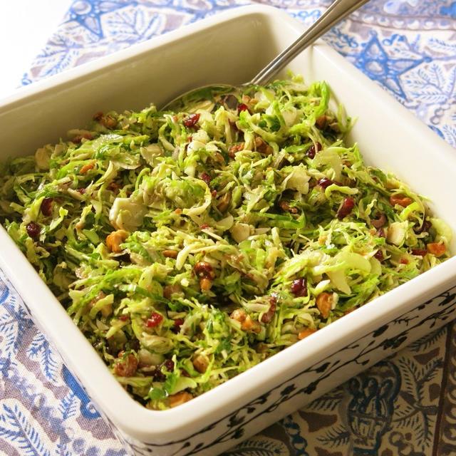 芽キャベツのサラダ