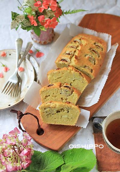 ローカロリースィーツ♪バナナおからパウンドケーキ