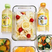 鶏胸肉の唐揚げカンタン酢レモンマリネ