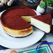 春の訪れ❤️と、今まで作ったチーズケーキで一番美味しいかも❤️ベイクドティラミスチーズケーキ♪