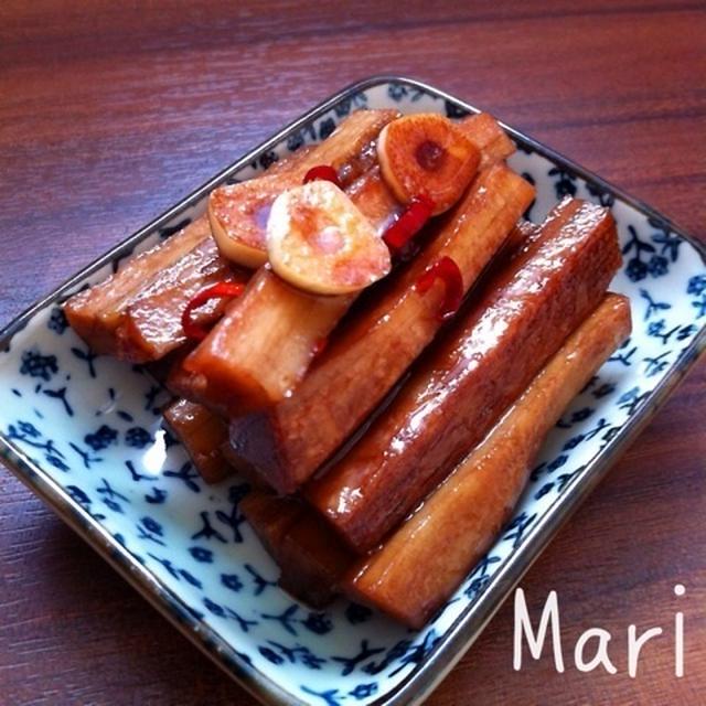 ゴリシャキッ♪ガーリック風味♡こぼうのバルサミコ酢マリネ