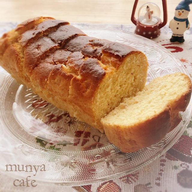 林檎ジャムとヨーグルトのパウンドケーキ
