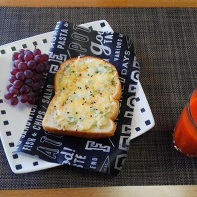 朝ご飯だけじゃもったいないおつまみにおすすめ☆しらすマヨチーズトースト♪☆♪☆♪