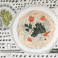 珍シェフのクッキング・パラダイス風「鶏の中華粥」