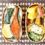 ◆2段シャケ弁当