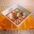タバスコで作る★根菜入りガンボスープ