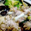 【レシピ】絶品!『焼き鳥とたちのペッパー塩こうじ鍋』  我が家の工夫鍋パート2(^^♪