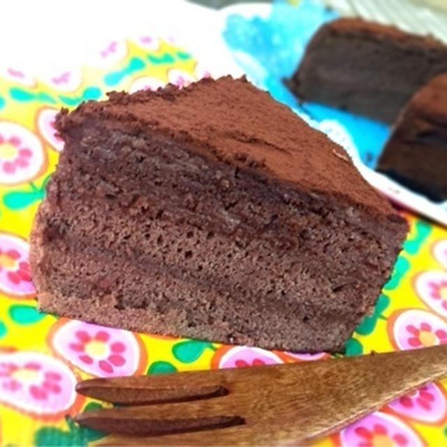 チョコレートガナッシュケーキ
