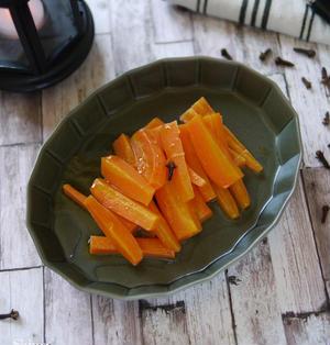 スパイスと旬の食材で楽しむ秋レシピ レンチン4分で出来る人参レシピ 【クローブ香る大人のにんじんグラッセ】 お弁当 付け合わせ もう1品 