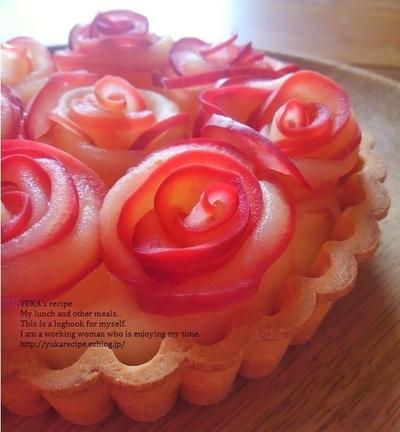イエシゴトVol.183 簡単レシピの薔薇のタルト&マロンタルト