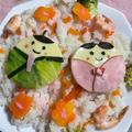 お雛様ちらし寿司