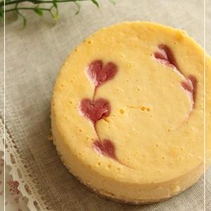 バニラのチーズケーキ