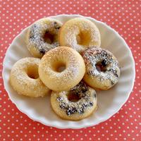 焼きドーナツ (イーストなし!しっとりふんわり簡単レシピ)   英語料理 動画   OCHIKERON