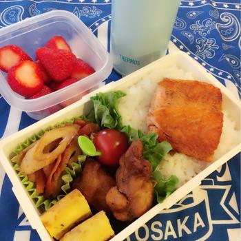 今日のお弁当と卒業式と入学式
