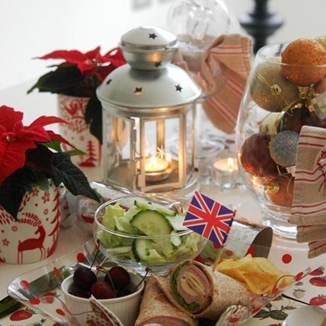 ハム&チーズラップでクリスマスモードのおもてなし♪